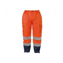 Vizwell Turuncu Fosforlu Pantolon