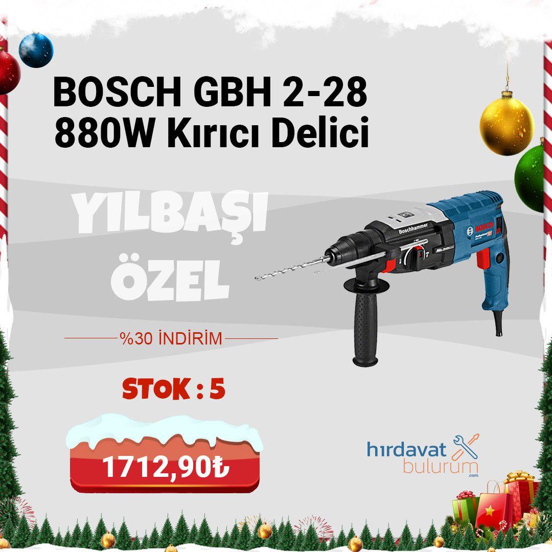 Bosch GBH 2-28 880W Kırıcı Delici