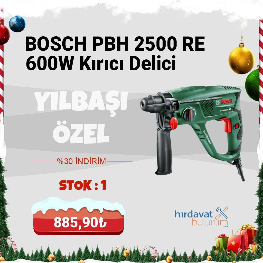 Bosch PBH 2500 RE 600W Pnömatik Kırıcı Delici
