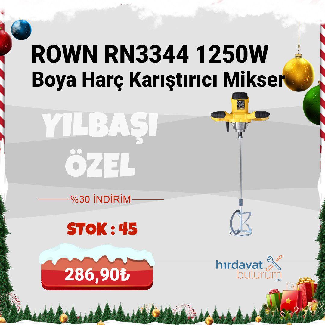 Rown RN3344 Boya Harç Karıştırıcı Mikser 1250W