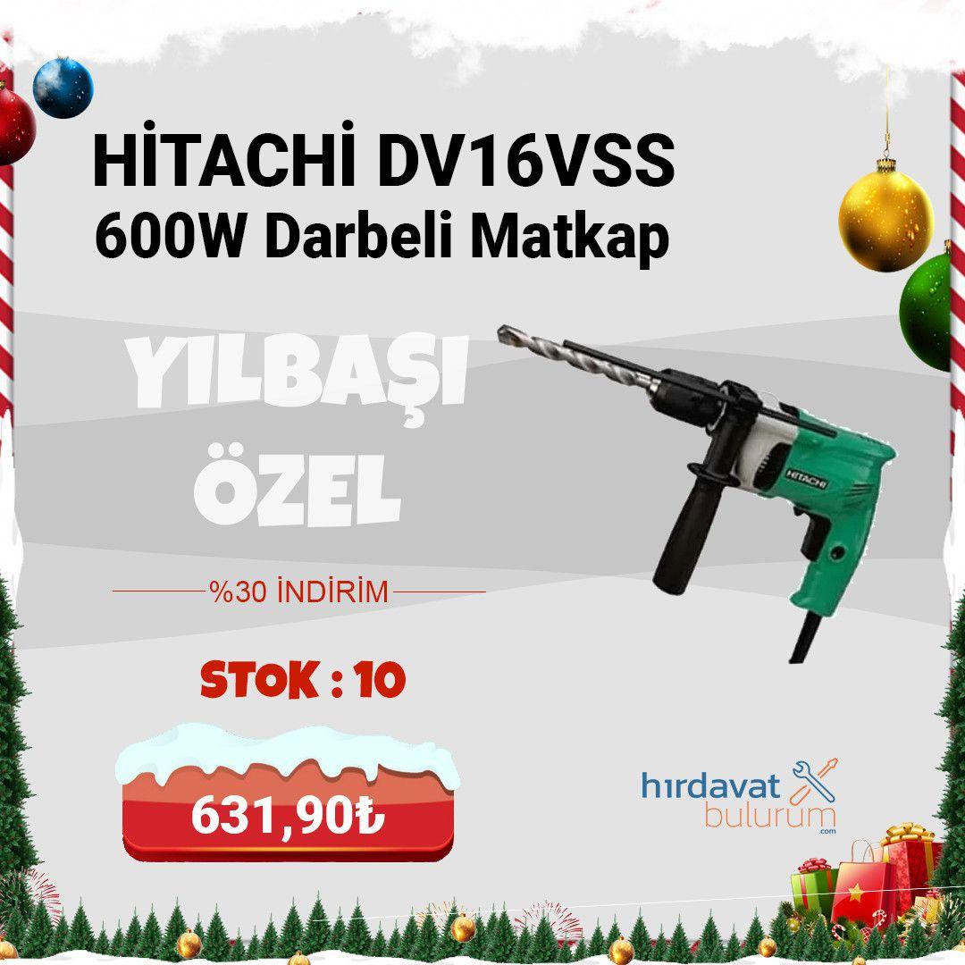 Hitachi DV16VSS 600W Darbeli Matkap