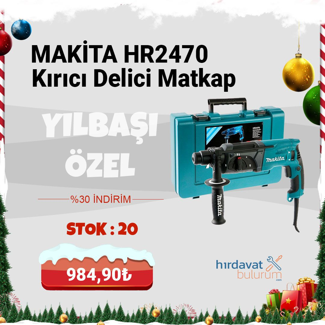 Makita HR2470 780W Kırıcı Delici