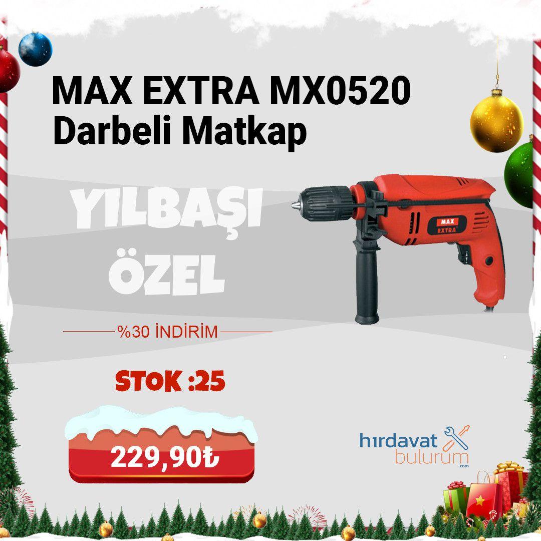 Max Extra MX0520 Darbeli Matkap