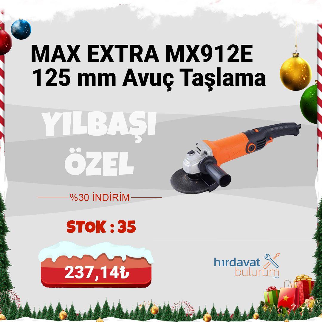 Max Extra MX912E 125 mm Avuç Taşlama