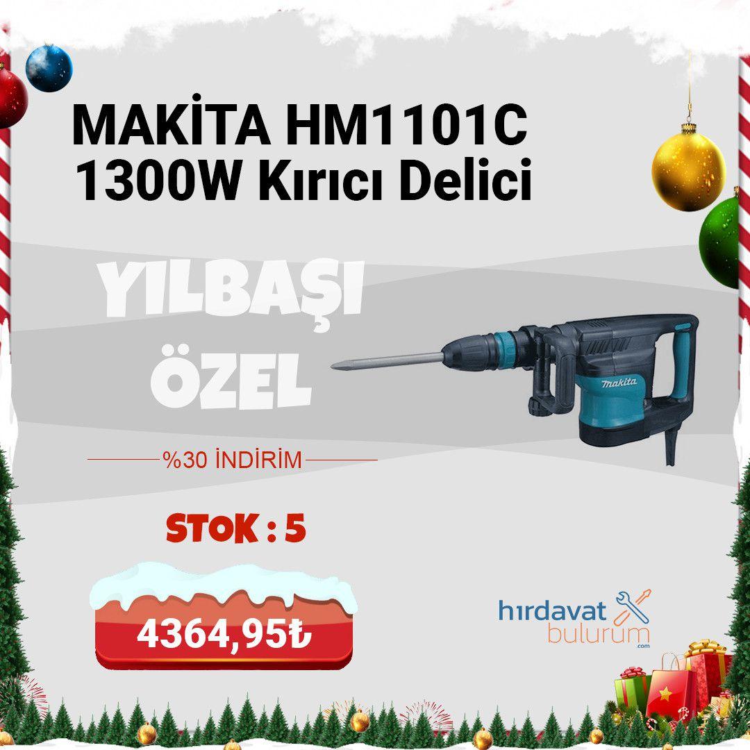 Makita HM1101C 1300W Elektro Pnömatik Kırıcı Delici