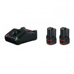 Bosch 2 x GBA 12V 2.0Ah + GAL 12V-40 Başlangıç seti