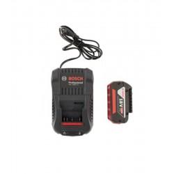 Bosch GAL18V-40 18V Akü Şarj Cihazı+GBA 4.0 Ah Yedek Akü