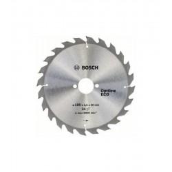 Bosch Optiline Eco Wood 190x30 mm Daire Testere Bıçağı 24 Diş