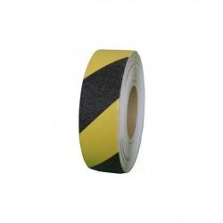 Raved Kaydırmaz Bant Sarı Siyah 25 mm 5 Mt