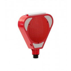 Mfk Plastik MFK9501 Flaşör Solarlı Kırmızı Lamba