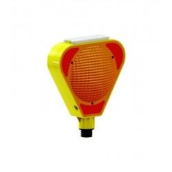 Mfk Plastik MFK9500 Flaşör Solarlı Turuncu Lamba