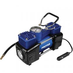 Proter PR252 12V 2 Pistonlu Lastik Şişirme Mini Kompresör