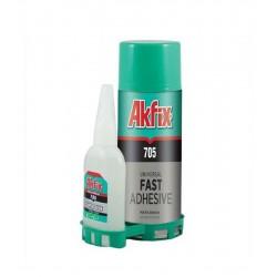 Akfix 705 Mdf Hızlı Sprey Yapıştırıcı 200 ml + 50 ml