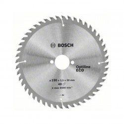 Bosch 190x30 mm Optiline Eco Wood Daire Testere Bıçağı 48 Diş