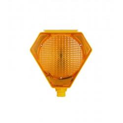 Max Safety MS1-2101 Üçgen Sarı Flaşör